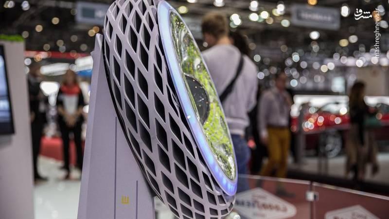 تایری که اکسیژن به هوا تزریق میکند+تصاویر