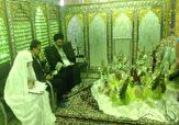 باشگاه خبرنگاران - آغاز زندگی مشترک ۱۴ زوج جوان یزدی در آستان مقدس امامزاده سید جعفر محمد یزد