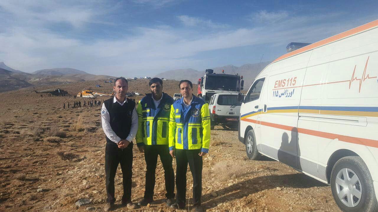آخرین اخبار از انتقال پیکر سرنشینان هواپیمای تهران- یاسوج