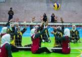 باشگاه خبرنگاران -بانوان همدان در مسابقات لیگ دسته یک والیبال نشسته سوم شدند