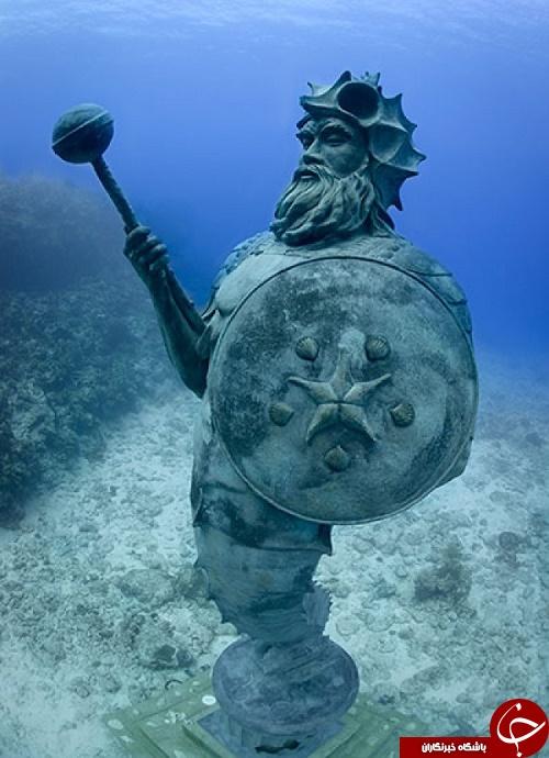 سفری در میان شگفت انگیزترین مجسمههای آبی دنیا
