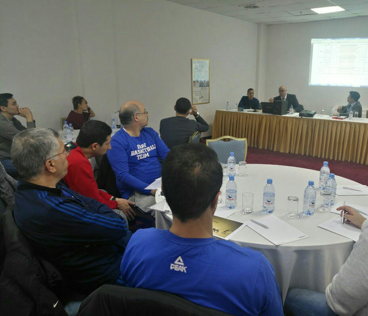 باشگاه خبرنگاران -جلسه فنی دیدار تیم های بسکتبال ایران و قزاقستان برگزار شد