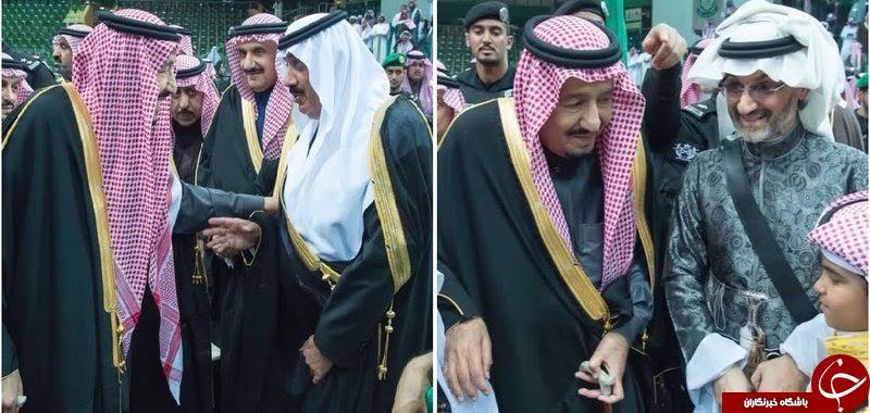 رقص ملک سلمان در کنار شاهزاده میلیارد سعودی+ عکس و فیلم
