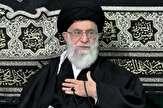 پنجمین شب عزاداری شهادت حضرت زهرا(س) با حضور رهبر انقلاب برگزار شد