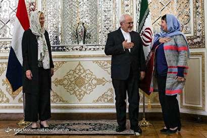 باشگاه خبرنگاران -دیدار وزرای امور خارجه ایران و هلند