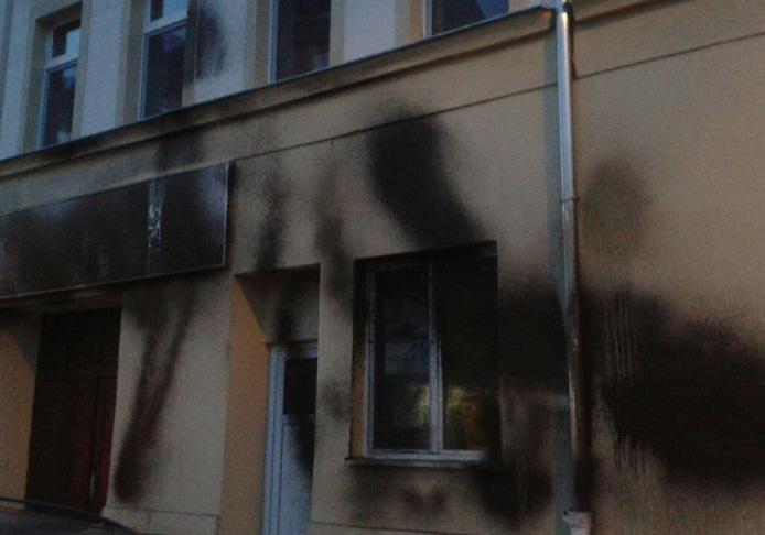 مسجدی در آلمان هدف حمله با بمب آتش زا قرار گرفت