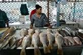 آرامش بر بازار ماهی شب عید حاکم است