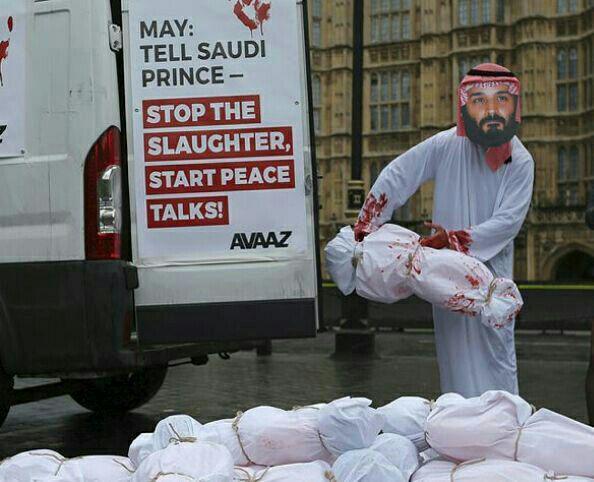 سفر ولیعهد سعودی به انگلیس و ناکامی وی در جلب رضایت افکار عمومی