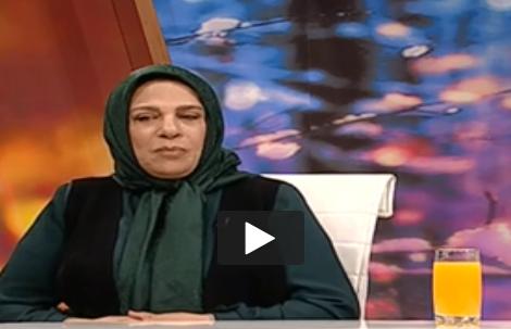 مهریه جالب بازیگر زن مشهور در برنامه زنده+فیلم