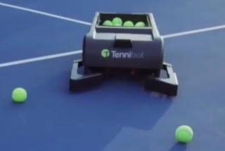 دپویی عید////////ربات توپ جمع کن برای ورزش تنیس +فیلم