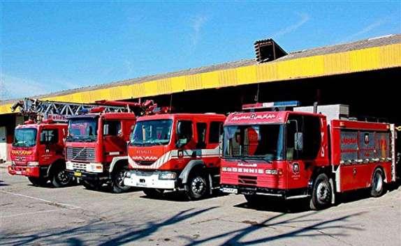 باشگاه خبرنگاران - آمادگی ۸۷ آتش نشان بجنوردی در چهارشنبه سوری