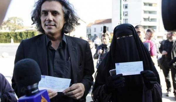 پرداخت جریمه زنان مسلمان برای حمایت از حجاب چهره