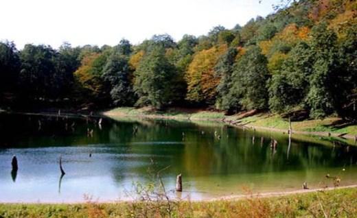 سقالکسار جاذبه دریاچهای و جنگلی گیلان