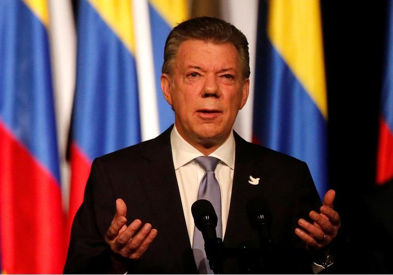 رئیس جمهور کلمبیا ازسرگیری گفتگوهای صلح را خواستار شد