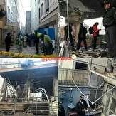 باشگاه خبرنگاران -تخریب یک ساختمان دو طبقه براثر انفجار مواد محترقه + فیلم