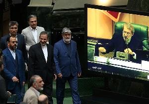 کدامیک از اعضای کابینه دولت ربیعی در جلسه استیضاح همراهی کردند
