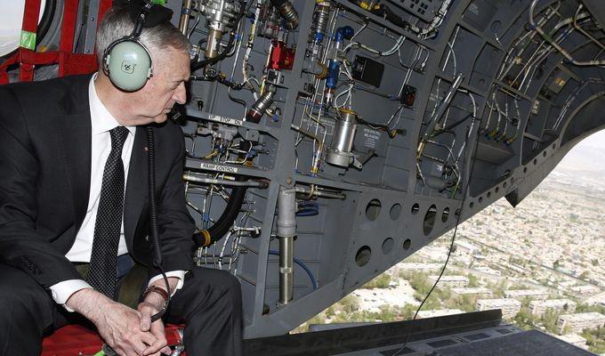 سفر غیر منتظره وزیر دفاع آمریکا به کابل
