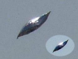 شی پرنده مرموزی که خلبان نیروی دریایی آمریکا را متحیر کرد! +فیلم