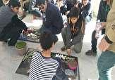 باشگاه خبرنگاران -زیارت دانش آموزان نهاوندی در روز شهید از قبورشهدای گمنام