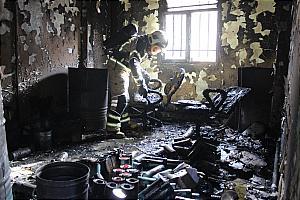 باشگاه خبرنگاران -سوختگی مرد جوان در انفجار کارگاه+عکس