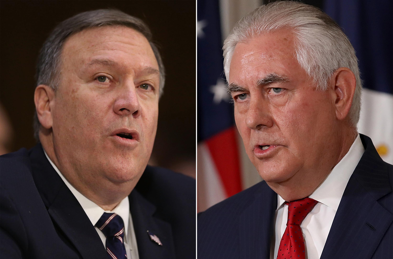 رئیس سازمان جاسوسی سیا جایگزین وزیر امور خارجه آمریکا شد