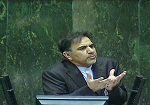 موجودی حساب بانکی وزیر راه از زبان خودش + فیلم