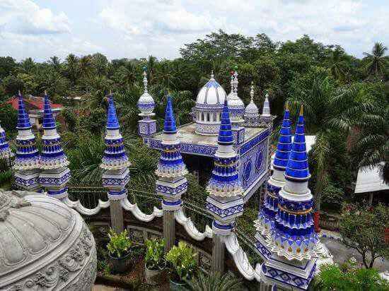 مسجد زیبای هفتصد ساله در چین