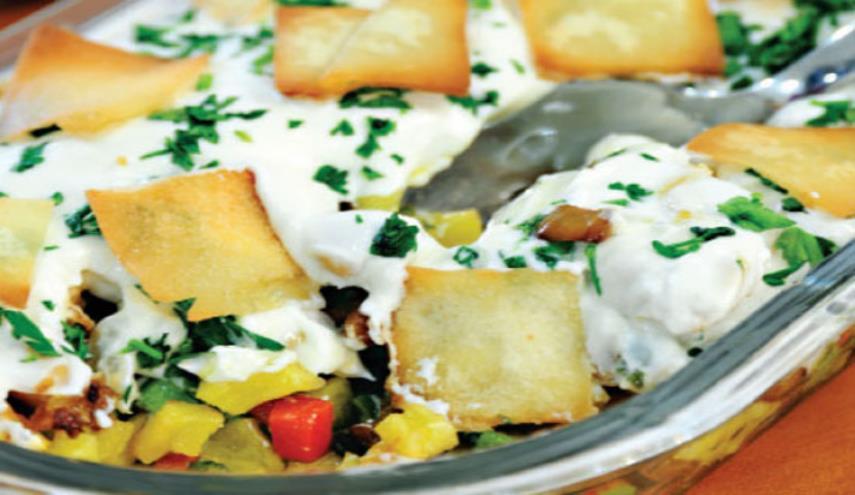 آشفته لبنانی غذایی خوشمزه که نباید آن را از دست داد