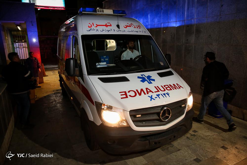 مصدومین چهارشنبه آخر سال - بیمارستان مطهری این گزاش حاوی تصاویر دلخراش است!