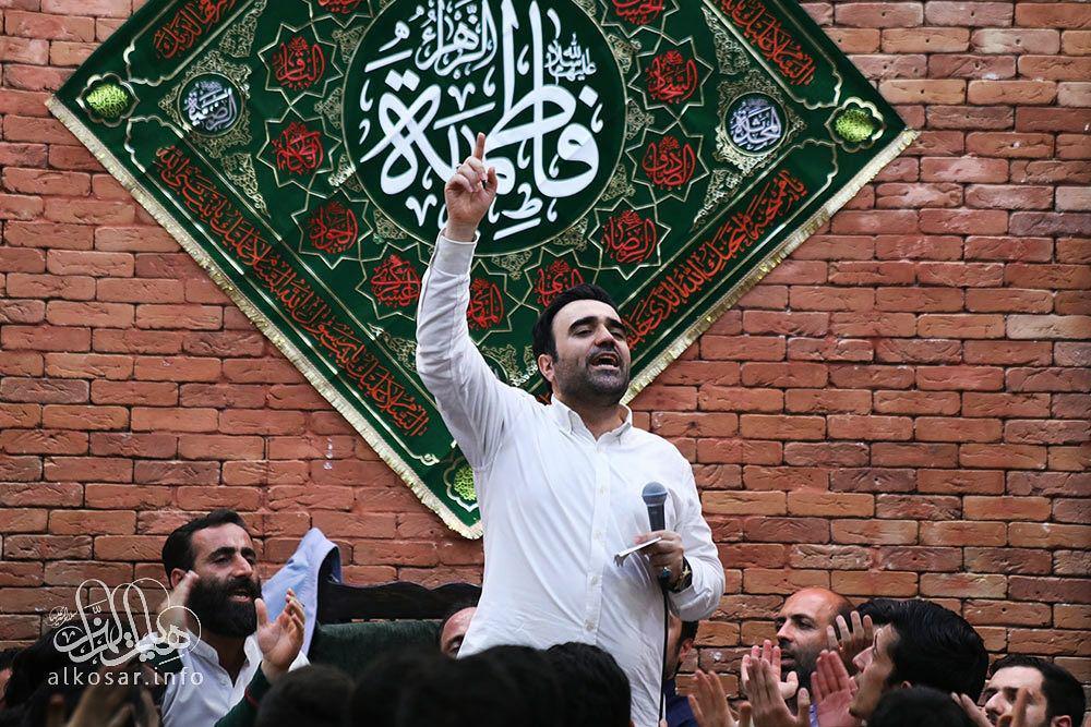 شعرخوانی محسن عرب خالقی با نام «ما تحت لواى حضرت زهراییم» + دانلود