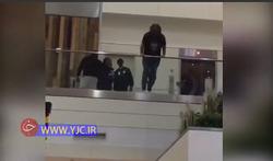 لحظه خودکشی شاهزاده سعودی در فرودگاه لندن +فیلم