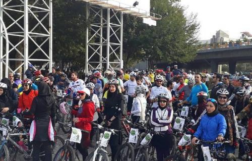 برگزاری همایش «دوچرخهسواری» در مشهد