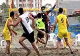 باشگاه خبرنگاران -آغاز مسابقات هندبال ساحلی جوانان کشور در بندرعباس