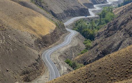 گازوییل و یدککشان جاده چالوس