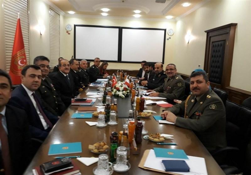 معاون وزیر دفاع با سفر به آنکارا، با جانشین رئیس ستادکل نیروهای مسلح ترکیه دیدار کرد