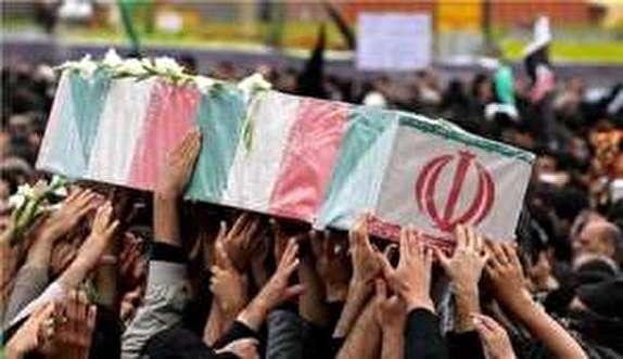 باشگاه خبرنگاران -پیکر پاک ۲ لاله گمنام در اندیمشک آرام گرفت