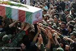 باشگاه خبرنگاران - مراسم تشییع و تدفین دو شهید گمنام دفاع مقدس
