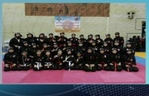 باشگاه خبرنگاران -موفقیت تیم نینجوتسو بانوان زنجانی در رقابت های قهرمانی کشور