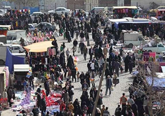 باشگاه خبرنگاران -بازار متنوع در مازندران با انواع سلیقههای زنان ومردان ایرانی