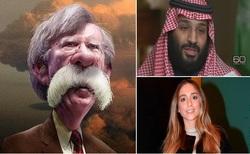 از اظهارات گستاخانه ولیعهد سعودی درباره ایران تا طلاق عروس بزرگ ترامپ+تصاویر