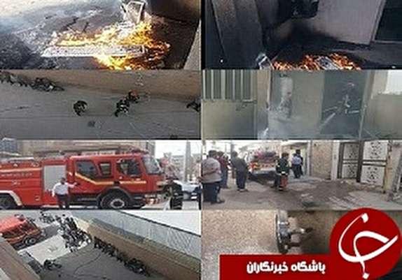 باشگاه خبرنگاران -نشت گاز در دزفول آتش به پا کرد/ حریق خاموش شد
