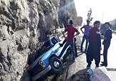 باشگاه خبرنگاران -مجروح شدن یک نفر براثر واژگونی وانت نیسان در جاده پلدختر خرمآباد