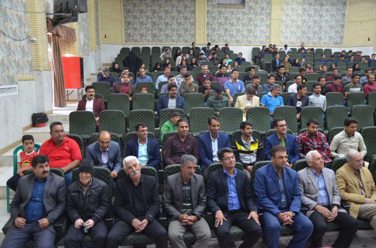 جشن اختتامیه فوتبال در شهربابک + تصاویر