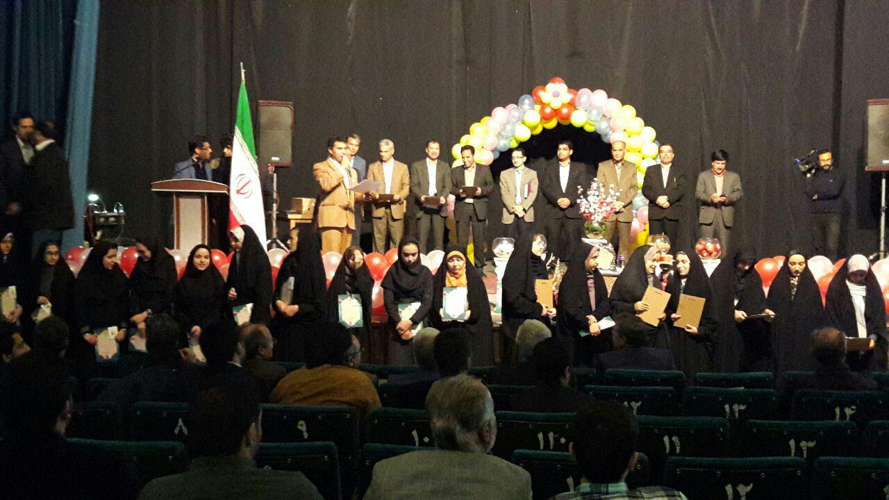 باشگاه خبرنگاران -تجلیل از ۱۸۲ دانش آموز نخبه کاشمری
