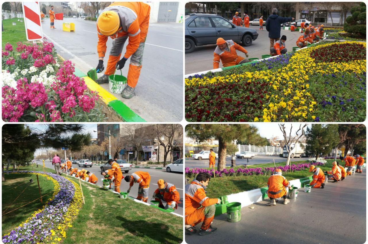 باشگاه خبرنگاران -کاشت و گلکاری ۱۳.۵ میلیون بوته گل در سطح شهر مشهد