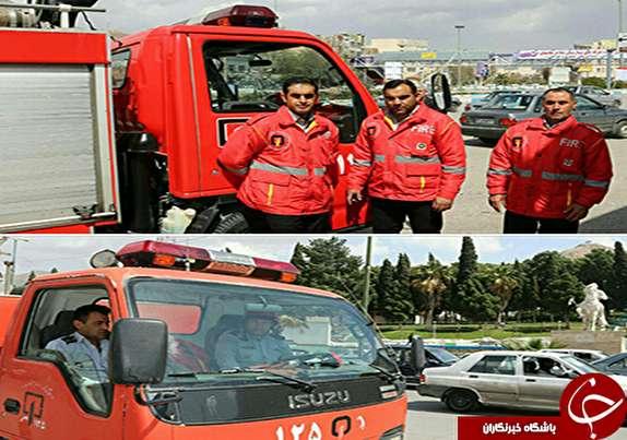 باشگاه خبرنگاران - مستقر شدن اکیپهای آتشنشانی در نقاط پرخطر و ترافیکی شهر خرمآباد+تصاویر