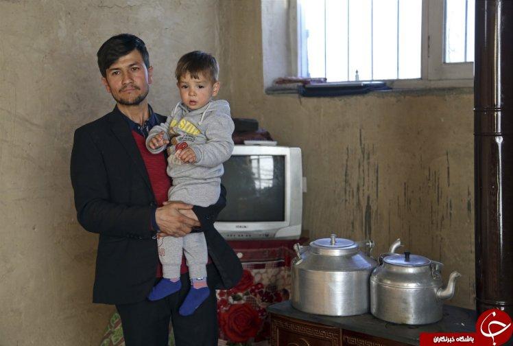 جنجالی که دونالد ترامپ ۱۸ ماهه افغانی در اینترنت به پا کرد! + تصاویر