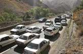 باشگاه خبرنگاران -مسافران نوروزی آمدند، ترافیک سنگین در هراز