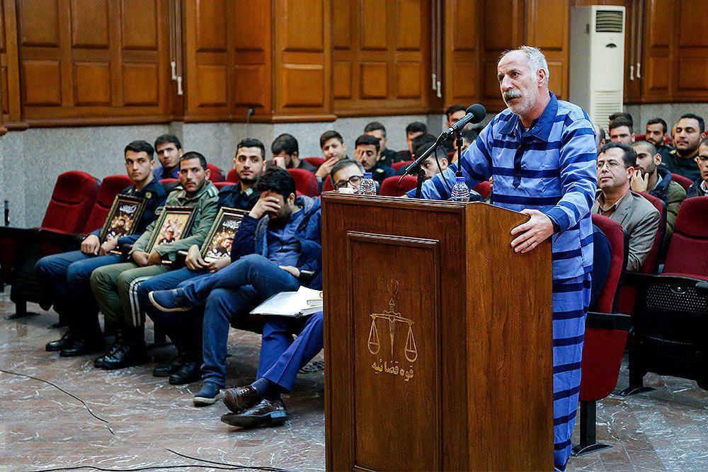 باشگاه خبرنگاران -پایان سومین جلسه دادگاه قاتل 3 مأمور ناجا در خیابان پاسداران