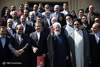 آخرین جلسه هیئت دولت در سال ۱۳۹۶